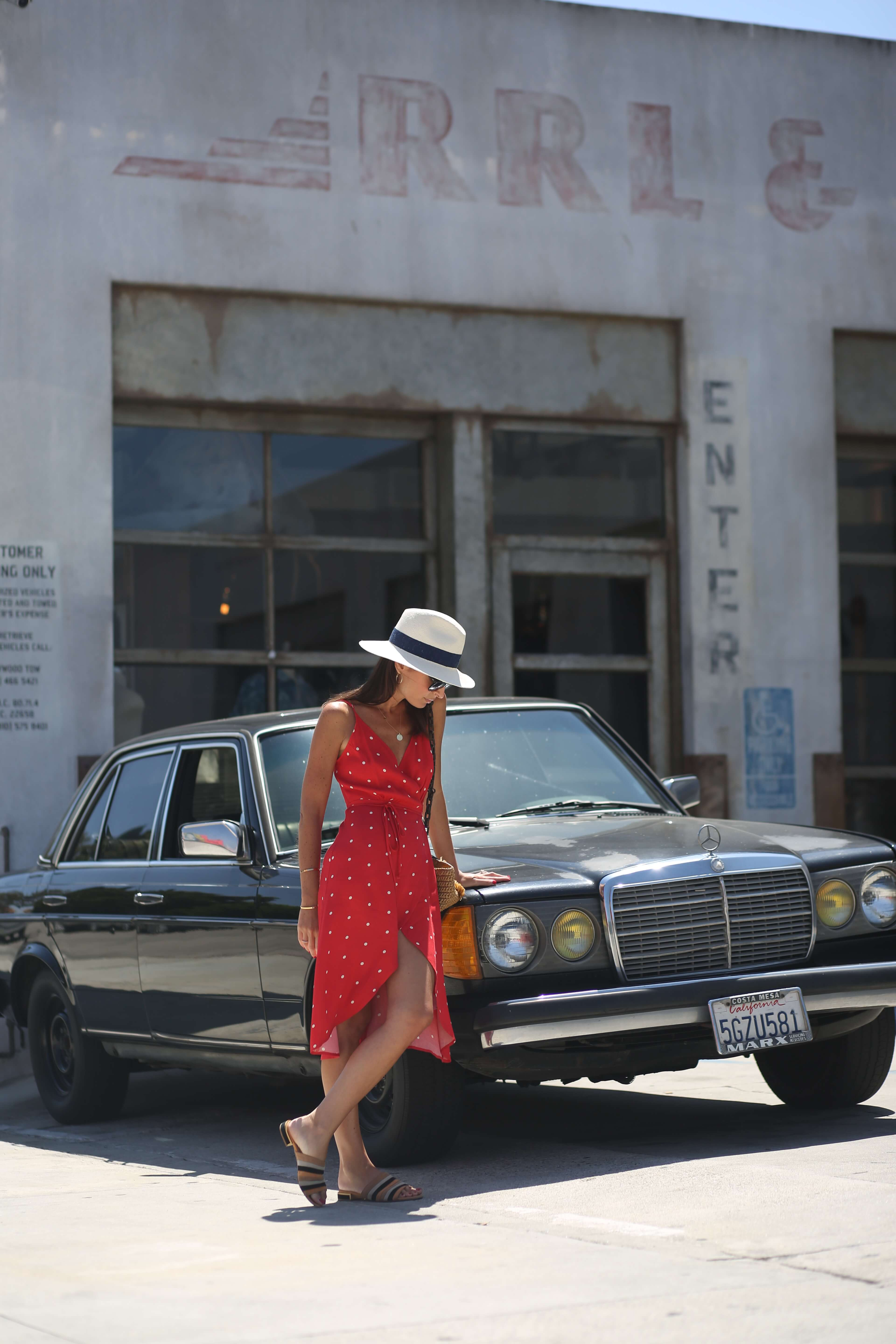 [california love_reformation red dress]