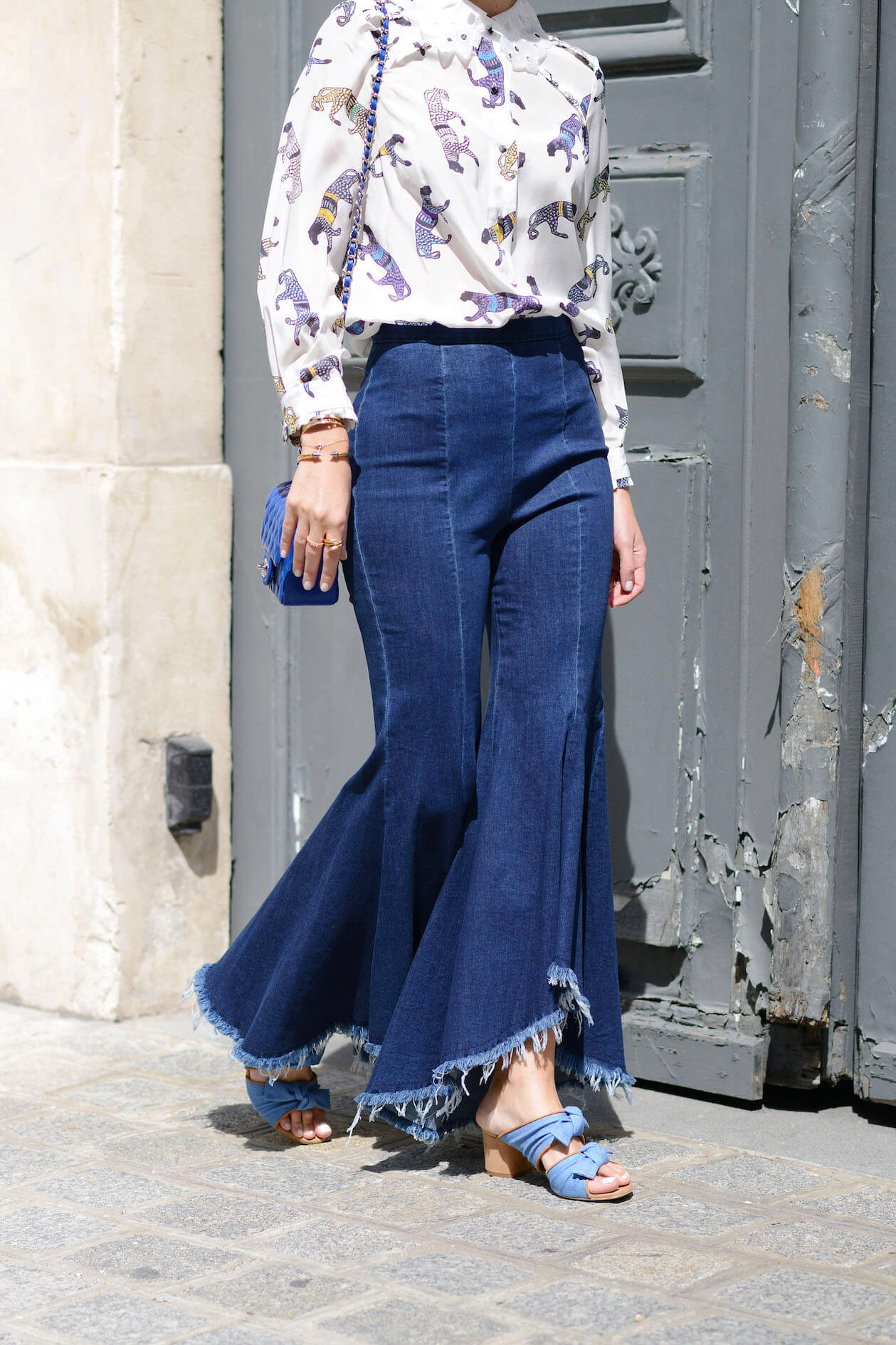 denim forever | asymmetric jeans