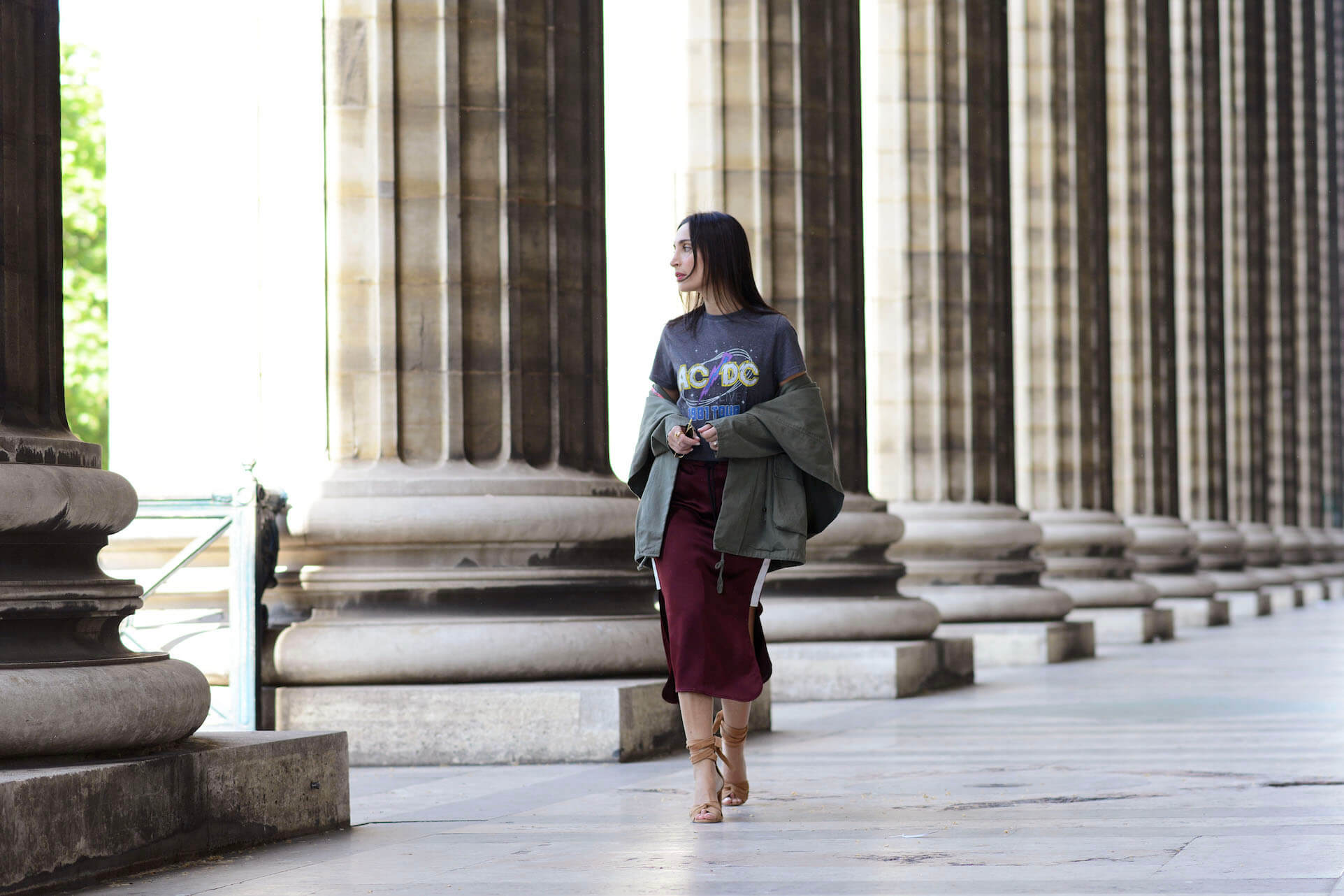 new fashion game | Alexander Wang sporty skirt