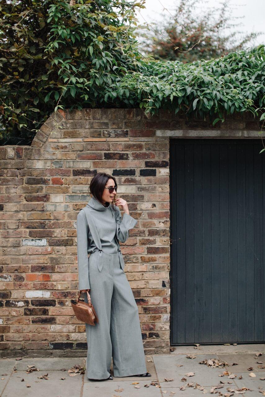 the modern monochrome look | Erin off duty