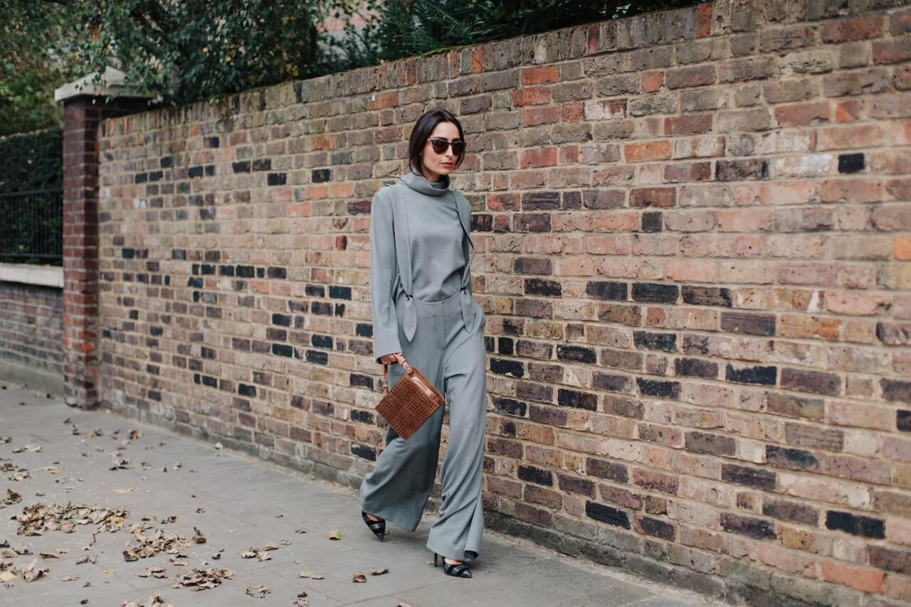 the modern monochrome look | Erin off duty